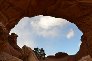 The View Through Broken Arch