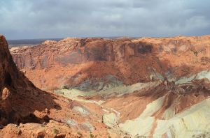 Shadows in Upheaval Dome