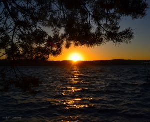 Canandaigua Lake at Sunset 02
